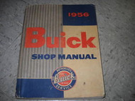 1956 Buick All Series Service Shop Repair Workshop Factory Manual OEM GM BUICK