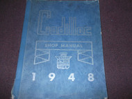 1948 CADILLAC Shop Service Repair Manual FACTORY OEM 48 BOOK ORIGINAL GM XX