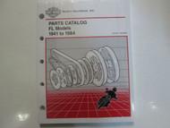 1949 1950 1951 1952 1953 1954 1955 1956 Harley Davidson FL Parts Catalog Manual