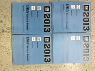 2013 GMC TERRAIN & CHEVY EQUINOX Service Shop Repair Manual Set OEM NEW FACTORY