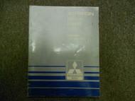1985 MITSUBISHI Starion Service Repair Shop Manual Supplement Turbo FACTORY OEM
