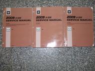 2009 GM Chevrolet Chevy HHR Service Repair Shop Workshop Manual Set NEW 2009