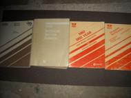 1982 DODGE RAMCHARGER TRUCK 150 250 350 Service Shop Repair Manual Set OEM 82