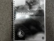 2003 Ski Doo Technical Update Book Manual FACTORY DEALER SHIP OEM BOOK B/W Cover