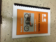 1972 1973 1974 1975 1976 Kawasaki KZ900 KZ 900 Service Repair Shop Manual OEM