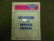 1994 1995 Polaris MAGNUM ATV Shop Repair Service Manual FACTORY OEM BOOK