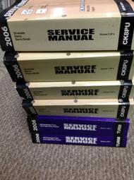 2006 Chevy Silverado Sierra Denali Service Shop Repair Manual Set W UNIT MANUALS