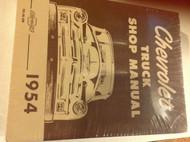 1954 CHEVY TRUCK TRUCKS Chevrolet Service Shop Repair Manual NEW RS56SM x