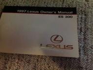 1997 LEXUS ES300 ES 300 Owners Manual FACTORY DEALERSHIP GLOVE BOX