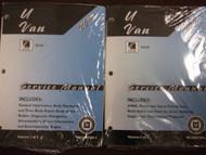 2007 SATURN RELAY Service Shop Repair Manual Set FACTORY BRAND NEW GM SATURN