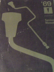 1969 Pontiac ALL MODELS FIREBIRD GTO TEMPEST Service Shop Repair Manual NEW x