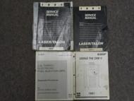 1991 Chrysler Laser Talon Service Repair Shop Manual 4 VOLUME SET DAMAGED OEM 91