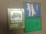 1979 GMC TRUCK CABALLERO Service Shop Repair Manual W UNIT BOOK + FISHER BODY