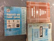 1977 GMC TRUCK ALL MODELS 7500 THRU 9500 Service Shop Repair Manual SET W EWD