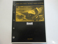 2000 2001 Buell Blast Models Parts Catalog Manual FACTORY OEM BOOK NEW