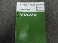 1975 80s Volvo 200 Charging System Fault Tracing Service Manual FACTORY OEM