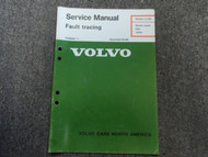 1975 Volvo 200 Starter Motor Fault Tracing Service Shop Manual FACTORY OEM 75