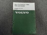 1980 Volvo GL GLE GT COUPE Engines B21A B21F B28F New Car Features Shop Manual