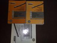1996 Chevy Monte Carlo & Lumina Service Shop Repair Manual Set W PRELIM BOOK OEM