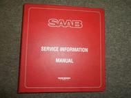1978 80 82 84 1985 Saab Service Tips Shop Manual 2 Volume SET FACTORY OEM