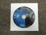 2006.2 BMW On Board Navigation System Northwest & Southwest CD DVD Roadmap
