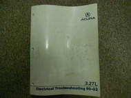 1999 2000 01 2002 Acura 3.2TL Electrical Service Repair Shop Manual FACTORY NEW