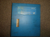 1980s BMW 733i 735i Service Repair Shop Manual FACTORY OEM BOOK 80s DEALERSHIP