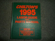 1991 1995 Chiltons All Models All Makes Labor Guide & Parts Manual Mechanics EDI