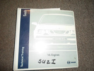 1970s 1980s 1990s 00s Saab 9000 Parts Service Training V6 Engine Repair Manual