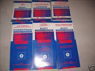 1993 Eagle Vision Repair Service Shop Manual Set OEM FACTORY BOOKS 93 DEALERSHIP