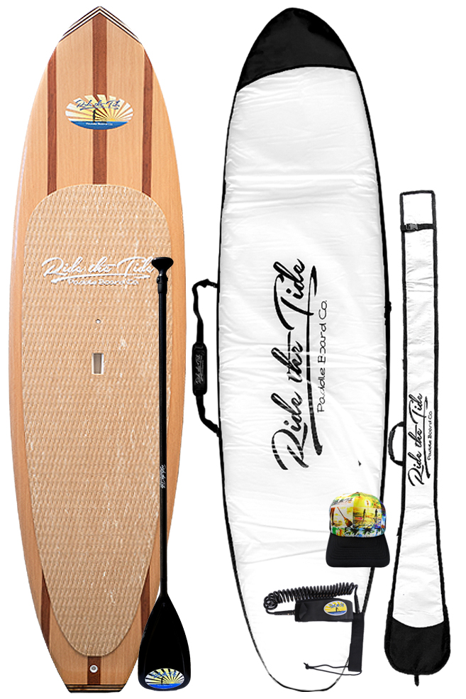 Ride The Tide Woody Bahama Stand Up Paddle Board