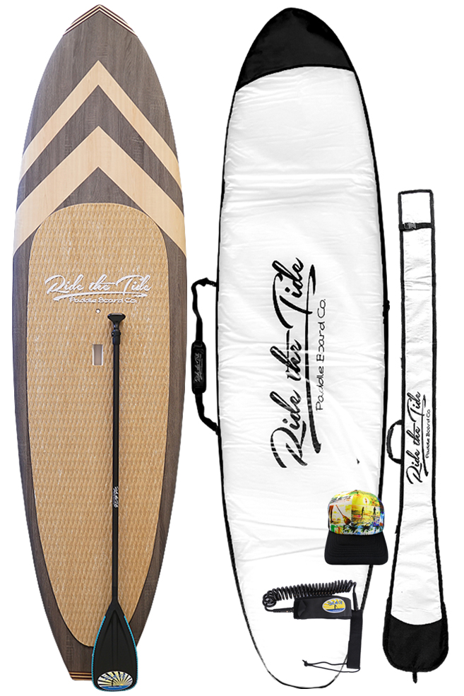 Ride The Tide Woody cabo Stand Up Paddle Board