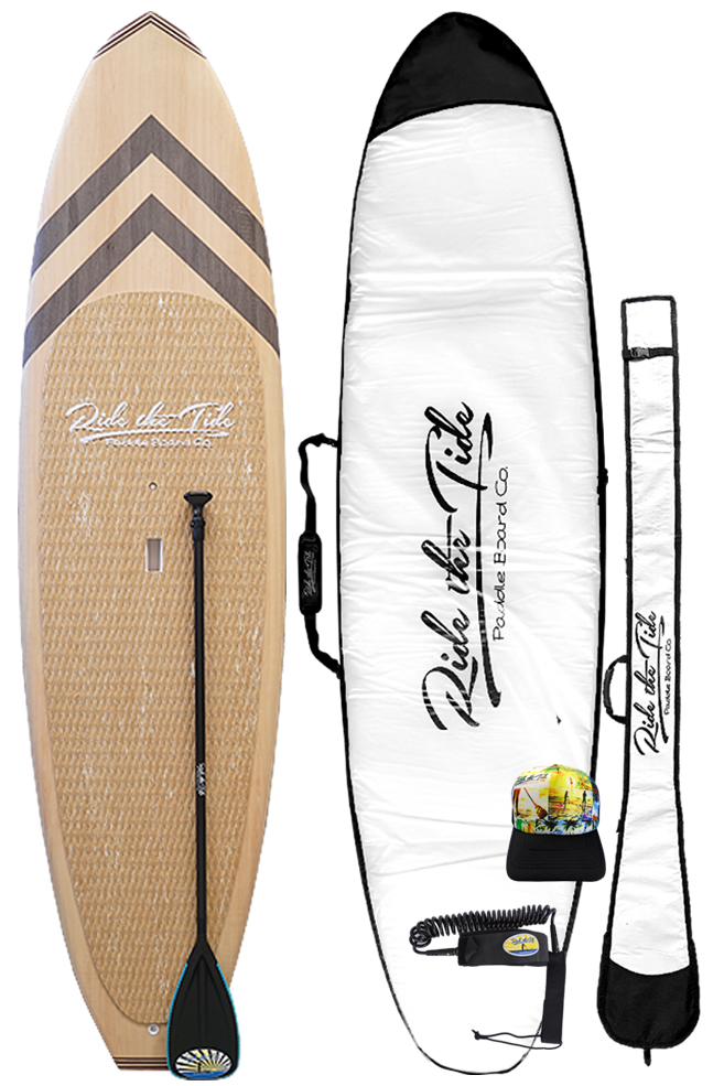 Ride The Tide Woody Kokomo Stand Up Paddle Board