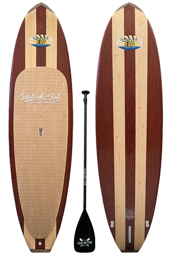 Ride The Tide Woody Original Stand Up Paddle Board