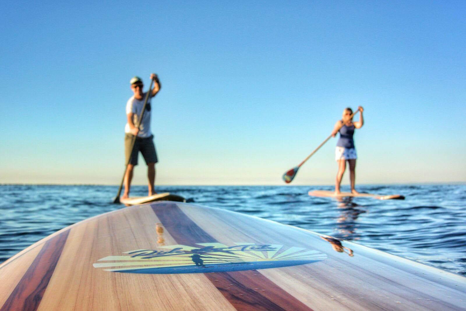 spring paddle board