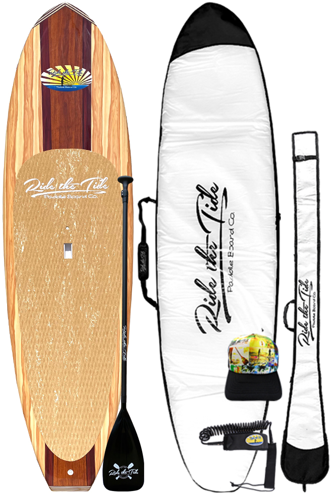 Ride The Tide Woody Havana Stand Up Paddle Board