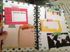 Here is an example of how you can attach these cards inside your planner.  Washi tape rocks.