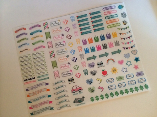 Cute LDS Planner Stickers