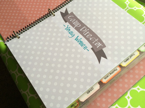 Ultimate Girls Camp Director Kit - planner