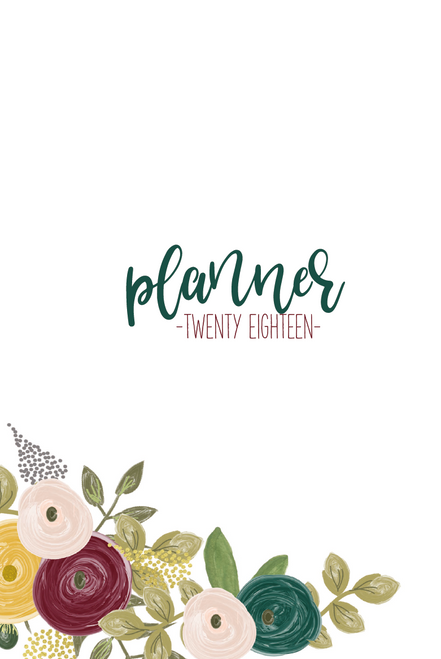 2018 Mom-on-the-Go Planner