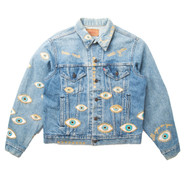 Metallic Evil Eye Jacket #3