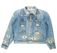 Metallic Evil Eye Jacket-Light #7