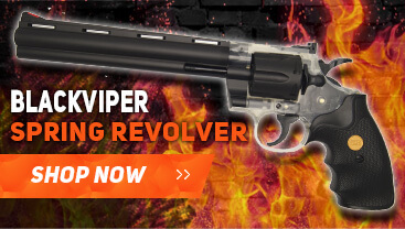 photo of an blackviper spring revolver bb gun