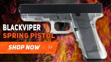 blackviper g17 spring bb gun