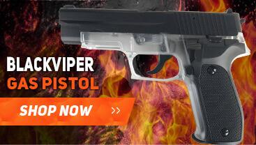 blackviper p226 gas bb gun pistol