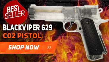 BLACKVIPER gas bb gun pistol