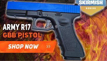army r17 gbb pistol bb gun