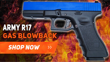 photo of an army r17 gas blowback bb gun
