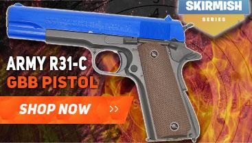 army r31-c gbb pistol