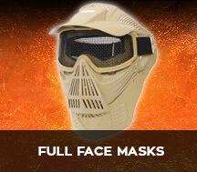 full face airsoft masks
